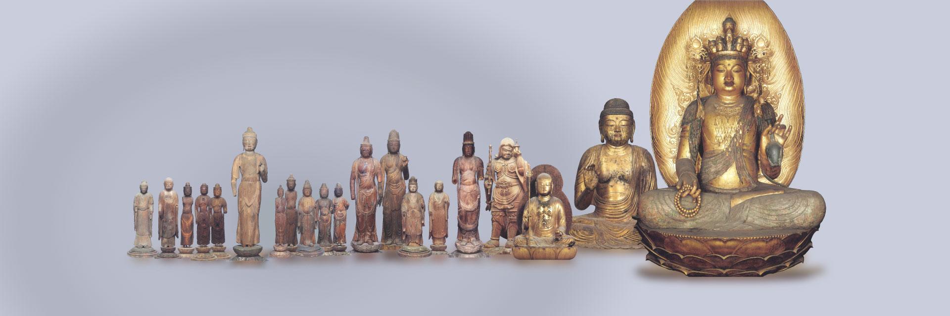 櫟野寺にある20体もの重要文化財の仏様